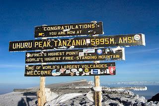 Park Narodowy Kilimandżaro w Afryce