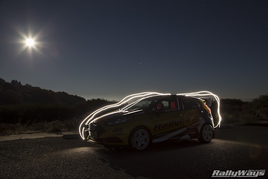 Light Painting Photography Hot Hatch Fun - RallyWays