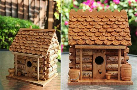 diy craft project wine cork house find fun art projects