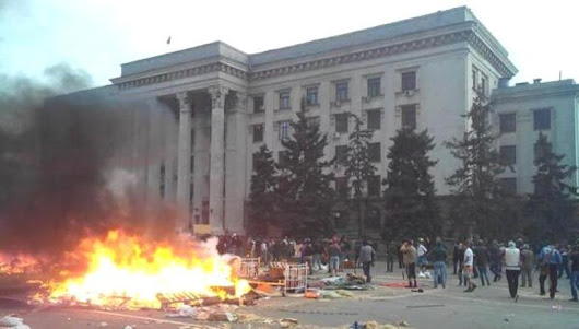 How the thugs killed Odessa inhabitants in the Trade Unions House - the details of bloody scenario