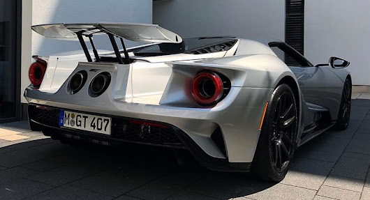 German Owner Of Burnt Ford GT Gets A New One | Carscoops