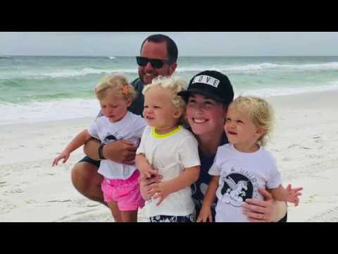 A week at the beach with Evan and Corrie