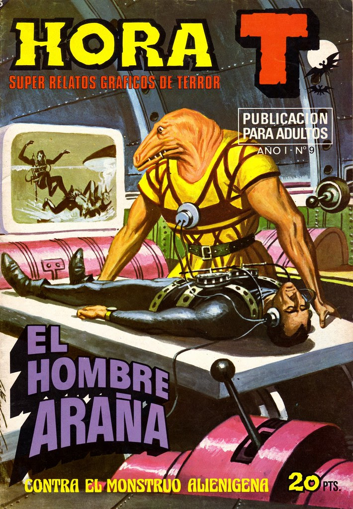 Antonio Bernal - Hora T (issue 9) 1975