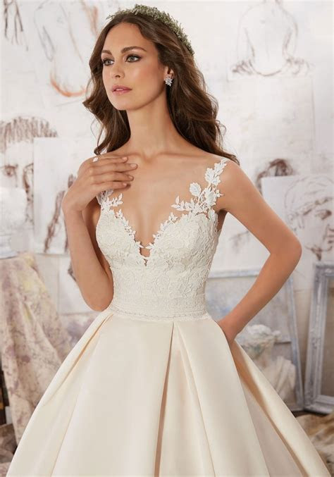 Morilee by Madeline Gardner's Blu Wedding Dresses