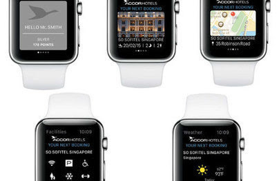 Hospitality Net - Accor launches its Accorhotels app for Apple Watch™