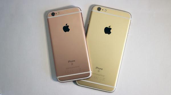 2015: Apple iPhone 6s e iPhone 6s Plus
