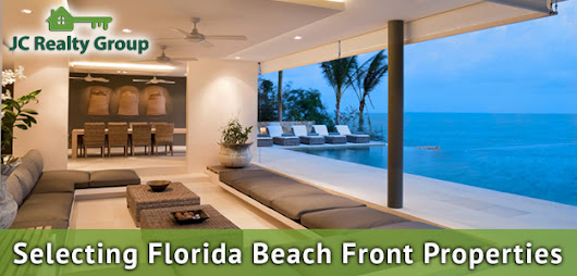 3 Things To Know When Selecting Beach front Property