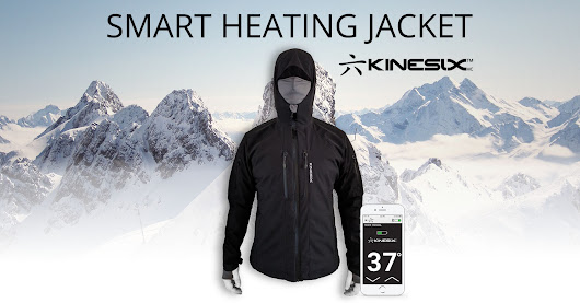The World's First Functional & Smart Heating Jacket.