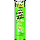 Pringles Potato Crisps, Sour Cream & Onion Flavored, Mega Stack - 7.1 oz