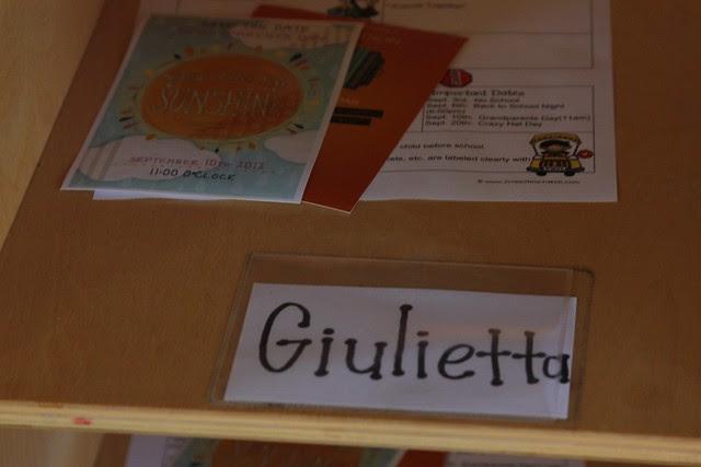 Giulietta's First Day of School 2012 24