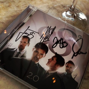 "Autographed copy of ""2.0"""