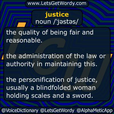 justice 01/11/2016 GFX Definition