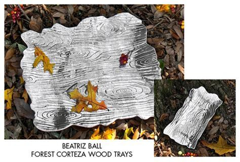 giveaway: beatriz ball forest corteza wood trays