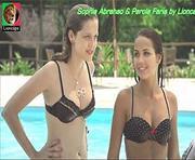 Sophia Abrahao e Perola Faria sensuais na novela Rebelde
