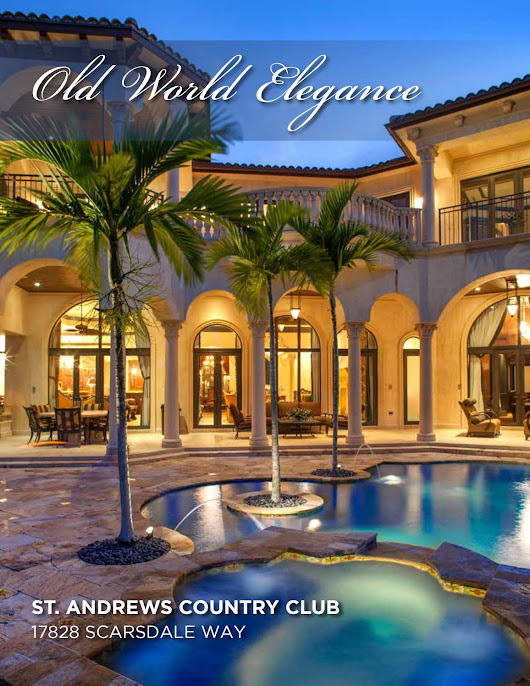17828 Scarsdale Way, Boca Raton, FL 33496 | St. Andrews Country Club