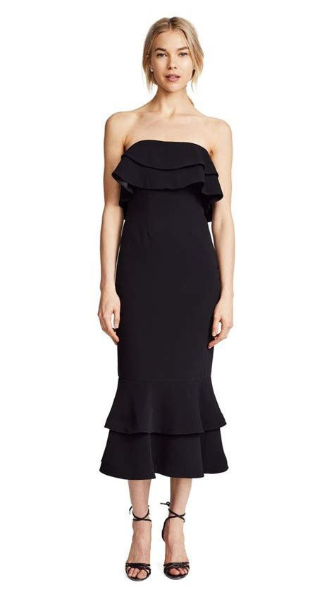 17 Black Dresses You Can Wear to a Wedding   WhoWhatWear AU