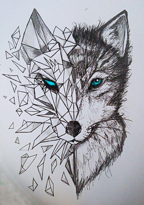 Geometric Tattoo Geometric Wolf Tattoos Yandexgörselde 26 Bin