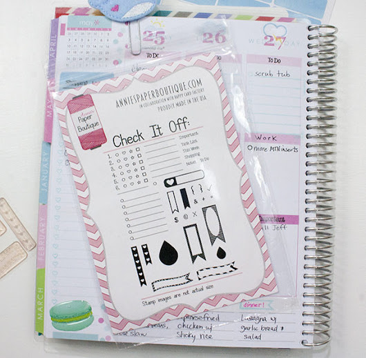 Check It Off with Erin Condren Life Planner