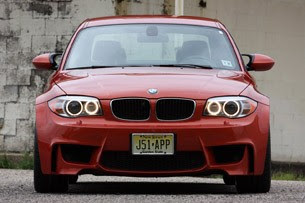 2011 BMW 1 Series M Coupe front view