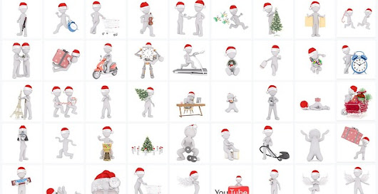 500 Extremely Useful Santa Claus Cliparts for Christmas