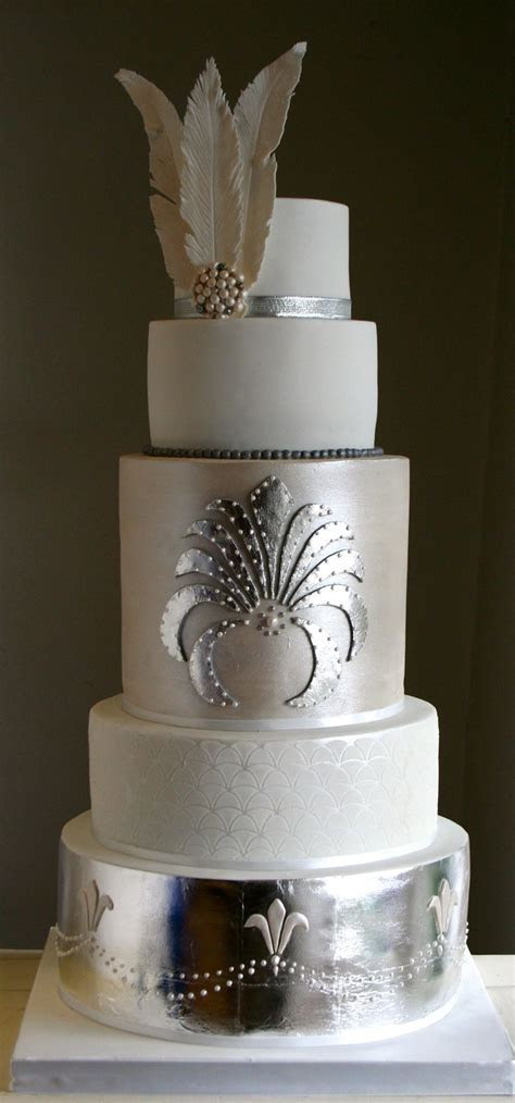 290 best images about Art Deco Cakes on Pinterest   Great