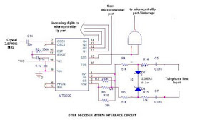 Design with Microcontrollers: Design Caller ID using DTMF