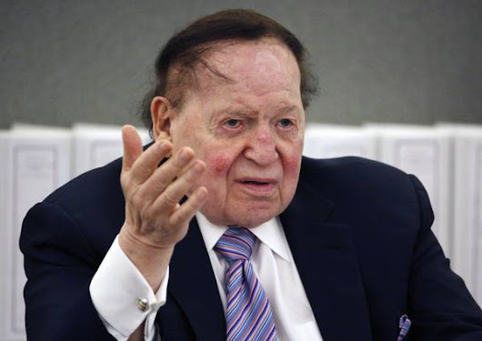 Adelson gives $2M to fight Nevada pot measure - Las Vegas Sun News