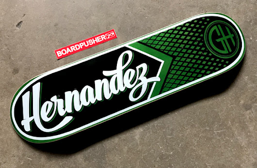 Featured Deck of the Day: Gabriel Hernandez Pro Model by Carlos Esquivel |