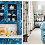 Denim Blue Home Decor - Blue and Denim Decorating Ideas - countryliving.com
