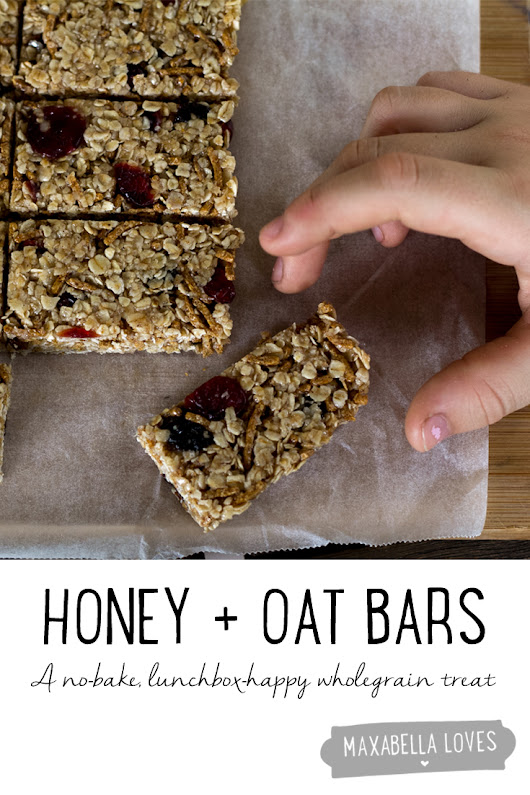 No-Bake Honey and Oat Bars