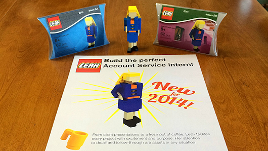 Most Adorable Résumé Ever? Aspiring Intern Pitches Lego Version of Herself to Agencies