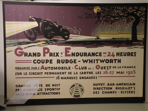 Poster: the first 24 Hours of Le Mans