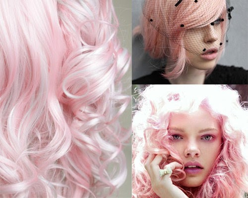 pastel hair fantacy: i fell in love pink