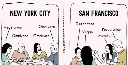The Difference Between Living in New York City and San Francisco: Part Tres