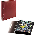 Collecto Value Stockbook Flexo Wine Red - with 10 pages