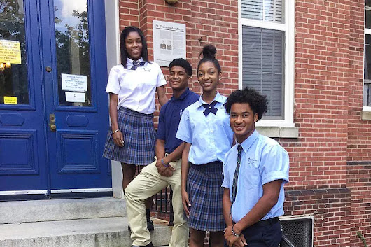 This 200 year-old black Catholic school is a 'gem' in Baltimore's inner city