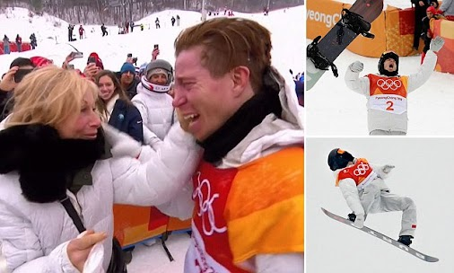 A huge CONGRATULATIONS goes to Shaun White for taking the gold today at the Olympics!  #shaunwhiteisgolden...