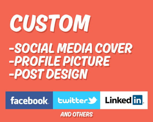 I will design Facebook cover or Social Media Cover for $5
