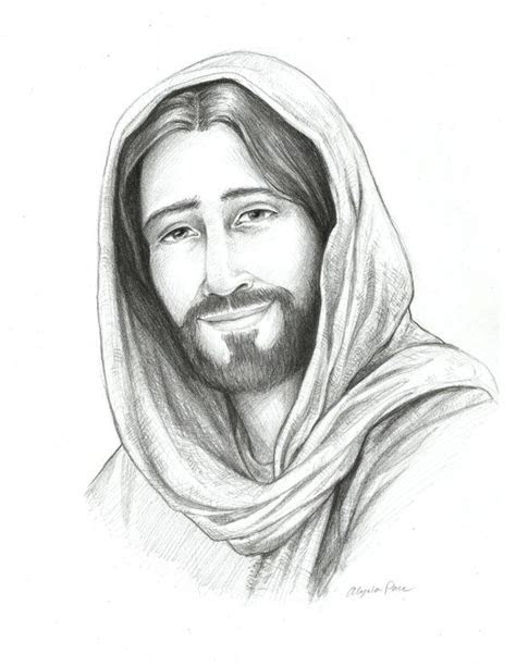 drawing  christ sketch  jesus religious art savior