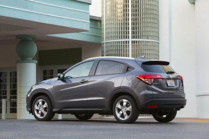 2017 Honda HRV  Prices and a New Color | Opptrends