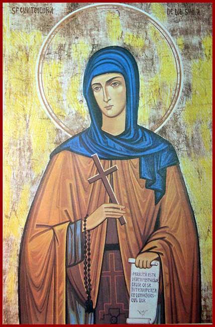 IMG ST. THEODORA of Sihla