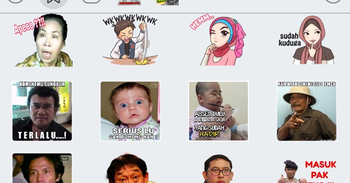 25+ Kumpulan Gambar Stiker Lucu Untuk Wa Terkeren | DPgokil123