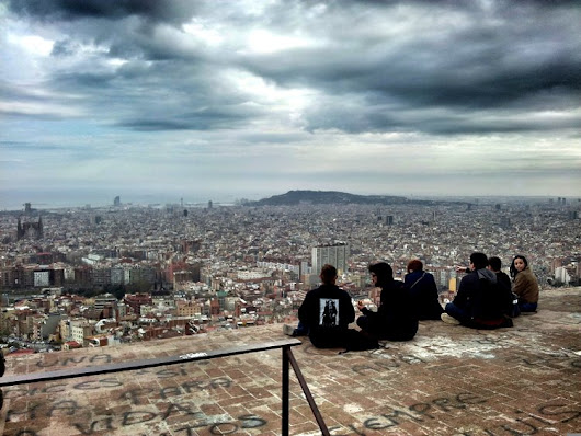 Turó de la Rovira, Best View Of Barcelona • Fevered Mutterings