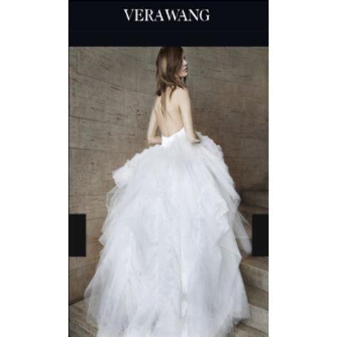 Vera Wang White Odette Modern Wedding Dress Size 2 (XS