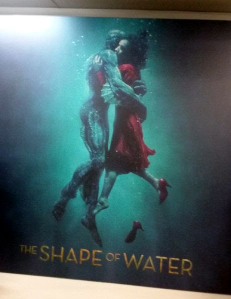 At a Q&A screening for THE SHAPE OF WATER at Landmark Theatres in west Los Angeles...on February 22, 2018.