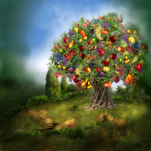 Tree Of Abundance by Carol Cavalaris