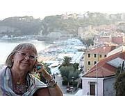 La poetessa Vivian Lamarque a Celle Ligure