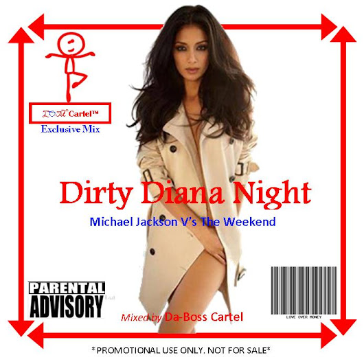 Michael Jackson ft The Weekend & Juicy J - Dirty Diana Night