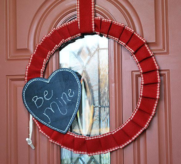 wreath2size Valentines Wreath Tutorial