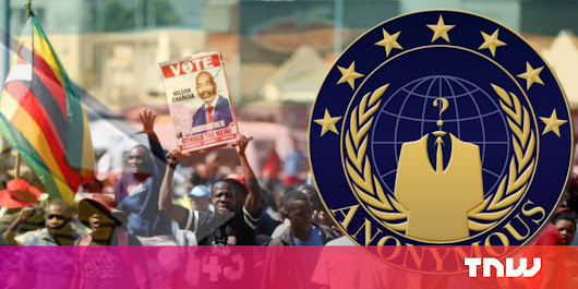 Zimbabwe blocked internet access, so Anonymous DDoS'd the government's websites